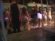 Порно кастинг в клубе