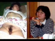 Волосатая пизда спящей бабы