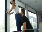 Порно видео блондинка со стрижкой каре